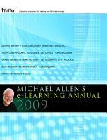 Michael Allen s 2009 E Learning Annual PDF
