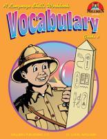Vocabulary Grade 3  eBook  PDF