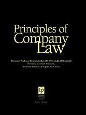 Principles of Company Law: Edition 2