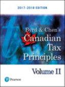 Canadian Tax Principles  2017 2018 Edition PDF