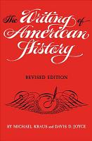 The Writing of American History PDF