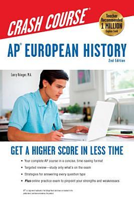 AP   European History Crash Course Book   Online