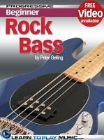 Rock Bass Guitar Lessons for Beginners PDF