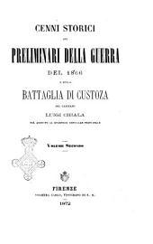 Cenni storici sui preliminari della guerra del 1866 e sulla battaglia di Custoza: 2.1, Volume 2