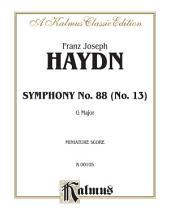 Symphony No. 88 in G Major: Full Orchestra (Miniature Score)