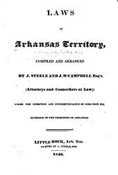Laws of Arkansas territory