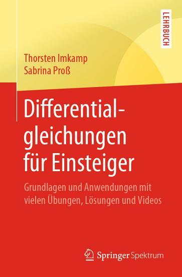 Differentialgleichungen f  r Einsteiger PDF