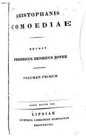 Comoediae: Volume 1