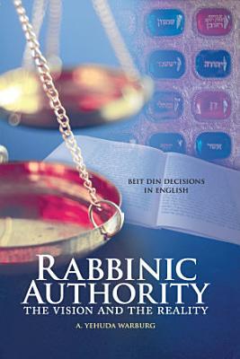 Rabbinic Authority PDF