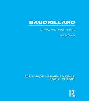 Baudrillard  RLE Social Theory  PDF