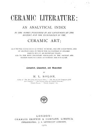 Ceramic Literature PDF