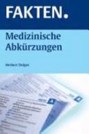 Medizinische Abk  rzungen PDF