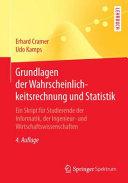 Grundlagen der Wahrscheinlichkeitsrechnung und Statistik PDF