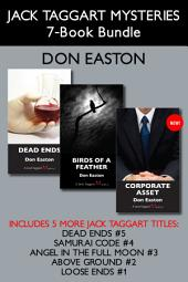 Jack Taggart Mysteries 7-Book Bundle: Corporate Asset / Birds of a Feather / Dead Ends / and more