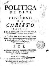 Politica de Dios y govierno de Christo
