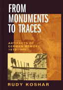 From Monuments to Traces