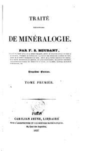 Traité élémentaire de minéralogie: Volume1