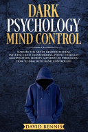 Dark Psychology Mind Control Book PDF