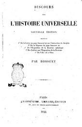 Discours sur l'histoire universelle par Bossuet