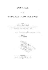 Journal of the Federal Convention: Volume 1