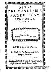 Obras del Venerable Padre Fray Ivan de la Cruz