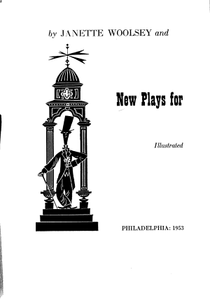 New Plays for Red Letter Days