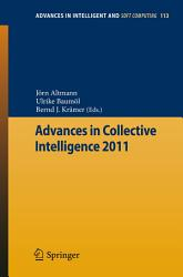 Advances In Collective Intelligence 2011 Book PDF