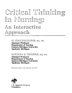 Critical Thinking in Nursing PDF