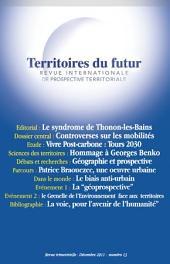 Territoires du futur: Revue internationale de prospective territoriale