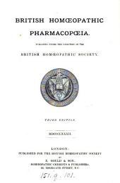 British Homoeopathic Pharmacopoeia