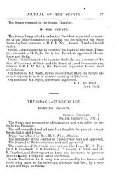 Journal of the Senate of the ... Regular Session, of the Legislative Assembly of Oregon