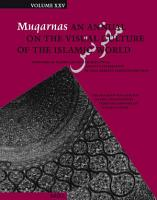 Muqarnas  Volume 25 PDF