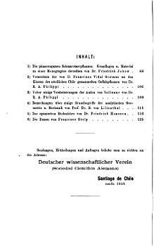 Verhandlungen des Deutschen wissenschaftlichen Vereins zu Santiago de Chile PDF