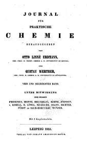 Journal für praktische Chemie: Band 64