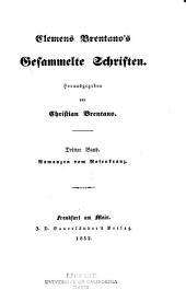 Clemens Brentano's gesammelte schriften: Bände 3-4