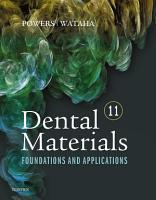 Dental Materials   E Book PDF