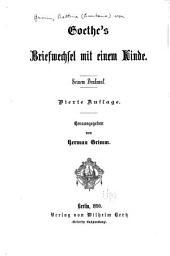Goethe's briefwechsel mit einem kinde: Seinem denkmal
