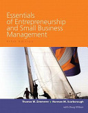 Essentials of Entrepreneurship and Small Business Management   Business Plan Pro  Entrepreneurship  Starting and Operating a Small Business PDF