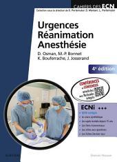 Urgences-Réanimation-Anesthésie: Édition 4