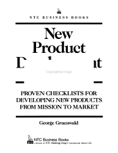 New Product Development Checklists PDF