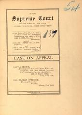 State of New York Supreme Court Appellate Division Third Department