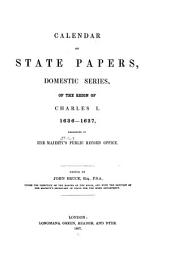 Calendar of State Papers, Domestic Series, of the Reign of Charles I: Volume 10