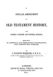 A Popular Abridgment of Old Testament History