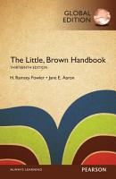The Little  Brown Handbook  Global Edition PDF
