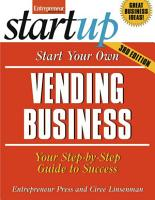 Start Your Own Vending Business PDF