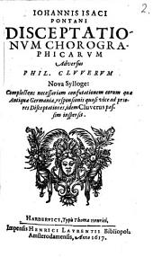 Disceptationum chronographicarum adversus P. Cluverum nova sylloge