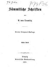 Sämmtliche Schriften: Band 8