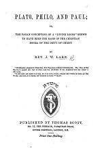 Plato, Philo, and Paul