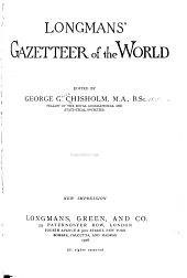 Longmans' Gazetteer of the World