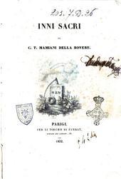 Inni sacri del c. T. Mamiani Della Rovere